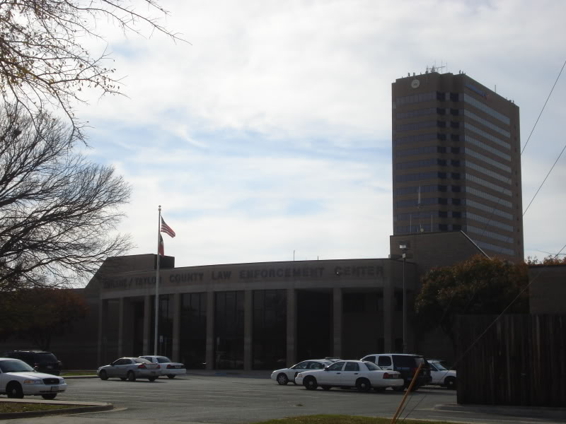 Taylor County Plaza, built in the 1960s as a bank, is home to many